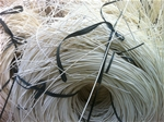 Rattan core 3.0mm bleached white