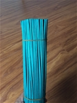 Rattan sticks blue color